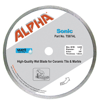 Tile Blades Such as Alpha's Sonic Wet Blade